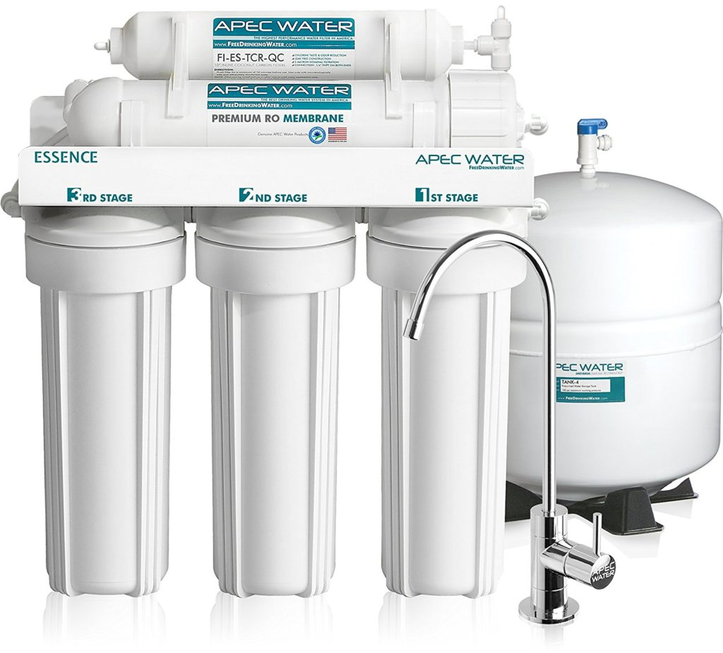 APEC Reverse Osmosis Drinking Water Filter System