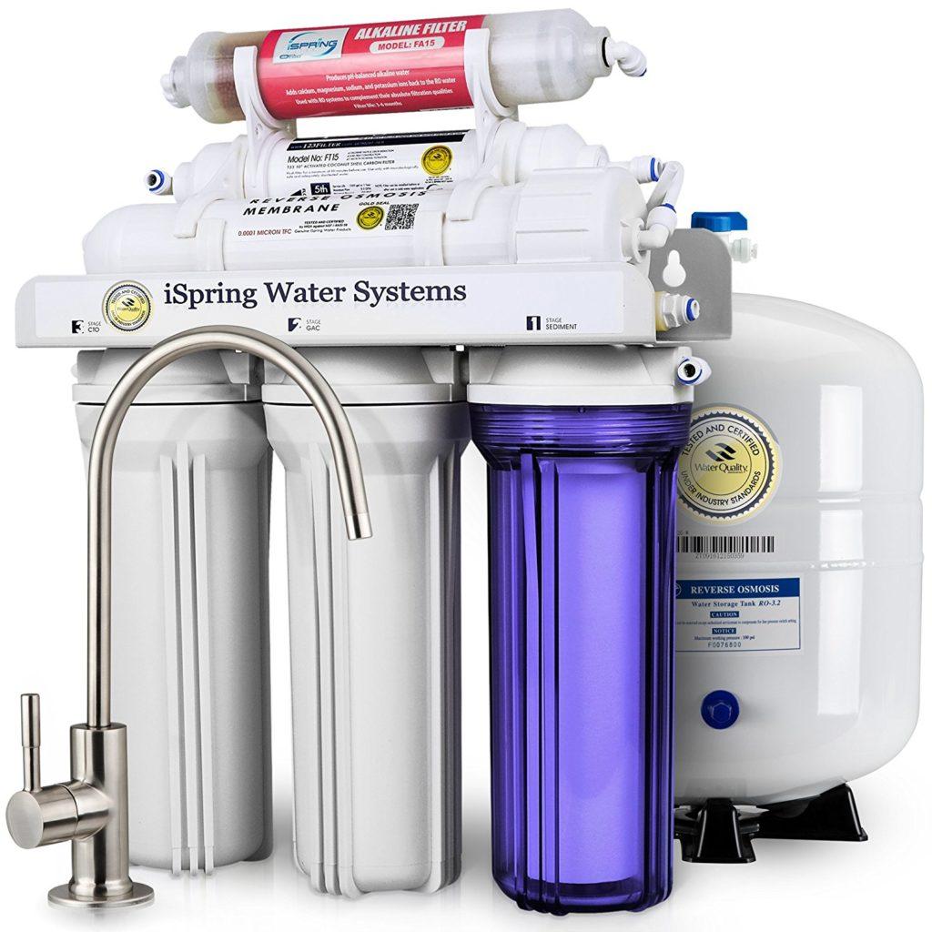 iSpring RCC7AK Water Filtration System